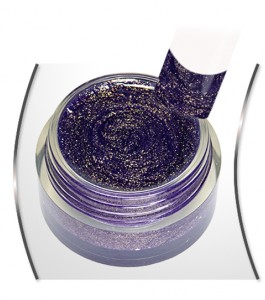 Glitter Gel Ultra Violet Gold