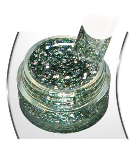 Big Glitter Gel Extreme Palm